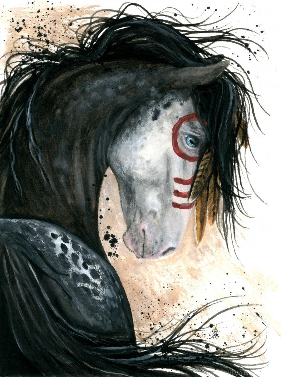 Appalossa Painted Horse  Print
