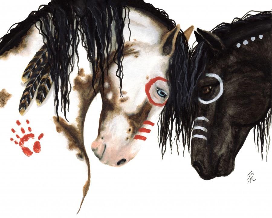 Majestic Spirit Horses  Print