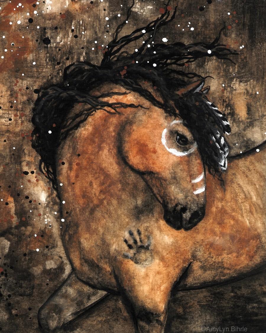 Spirit of Ancestors Horse  Print