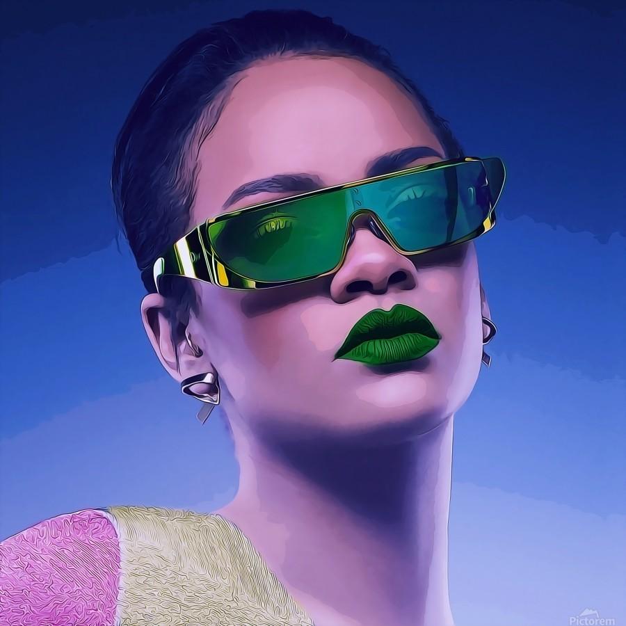 Rihanna  Print