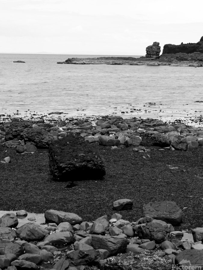 Sea and Rocks  Print