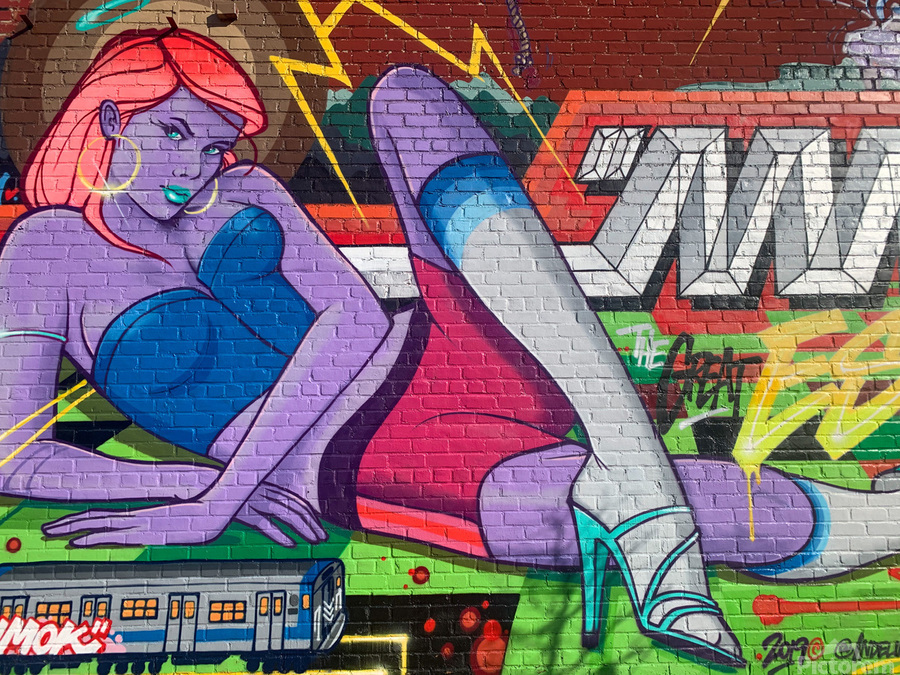 Graffiti Glam   Print