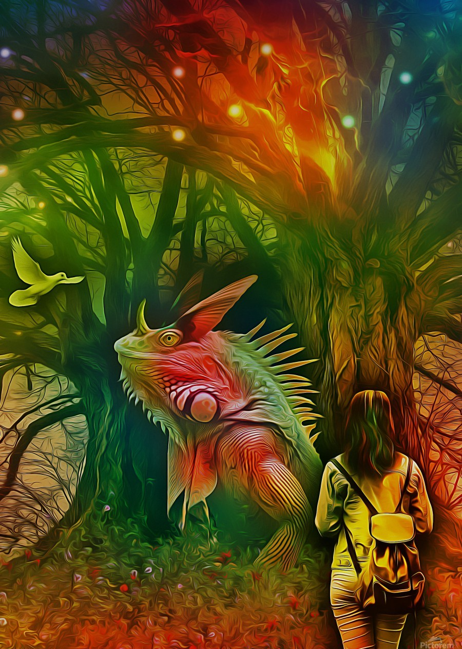 Keeper of the Tree 2  Print