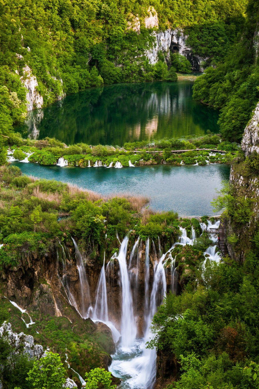 Waterfall Paradise Plitvice Lakes in Croatia  Print