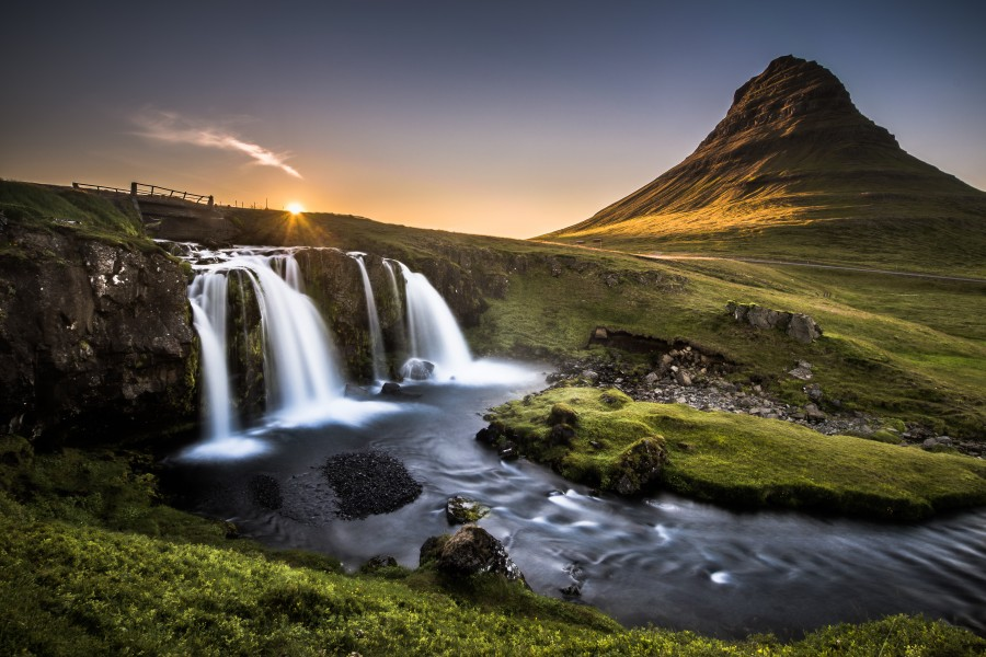 Fairy-Tale Countryside in Iceland  Print