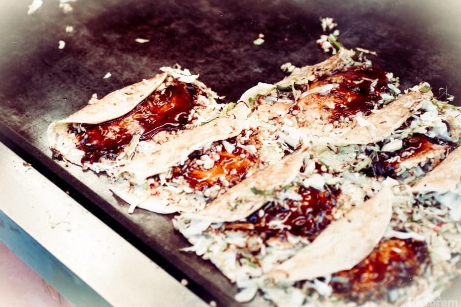 Street Okonomiyaki  Print