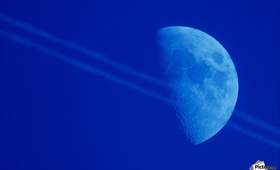Moon lines  Print