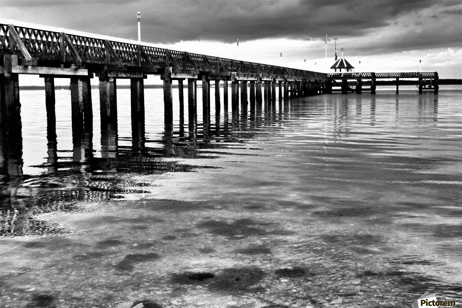 Dark Pier  Imprimer