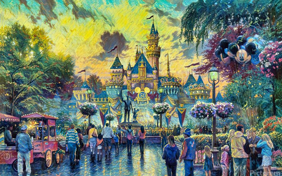 Day At Disney  Print