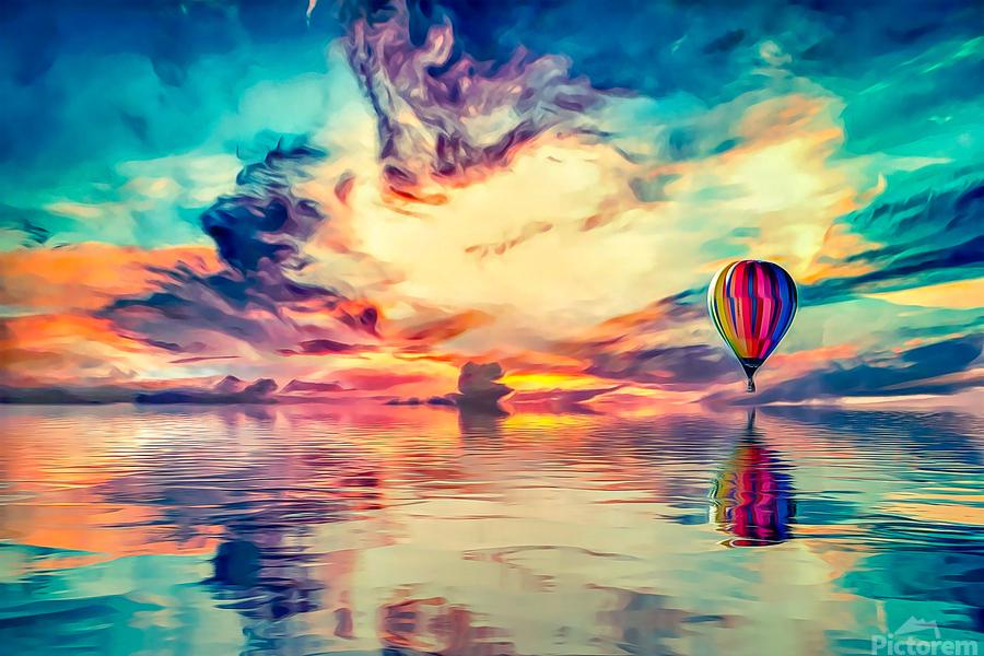Painted Sky  Print