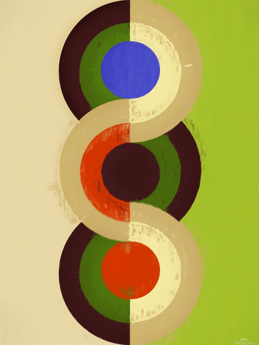 Abstract Composition 626  Print