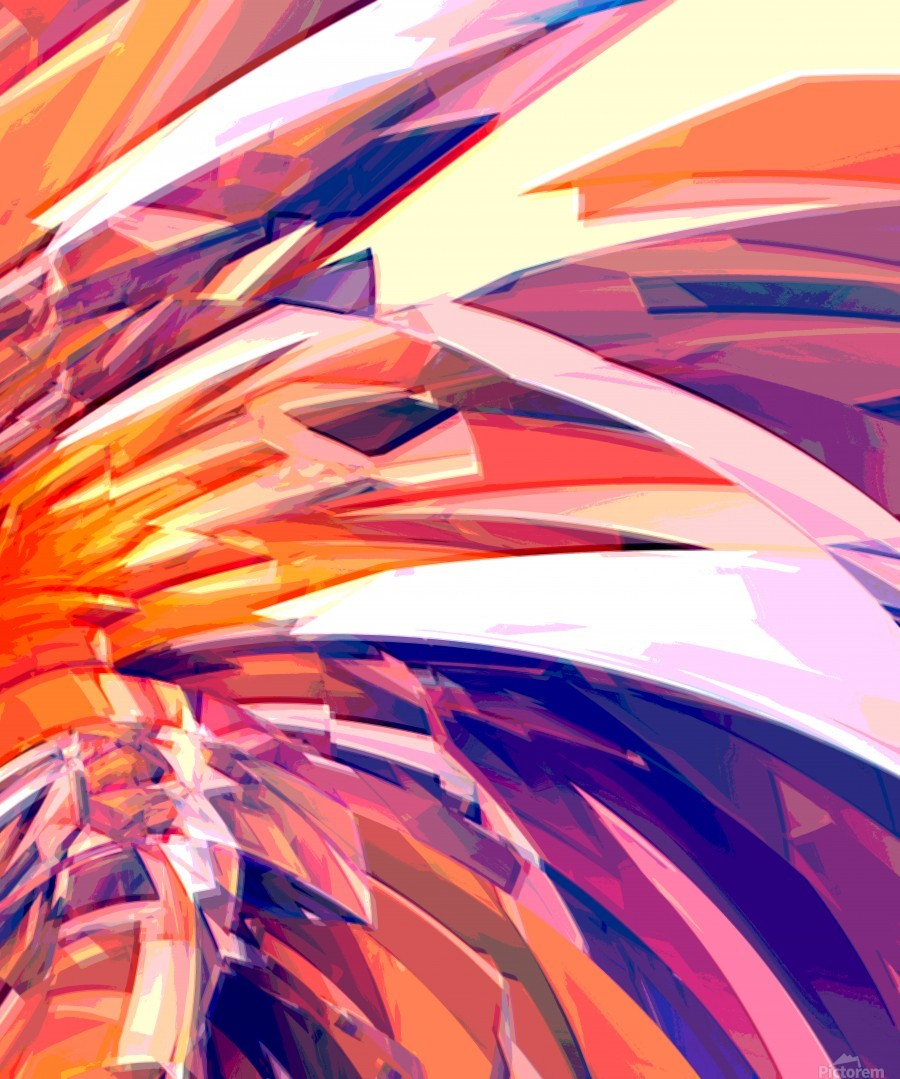 Abstract Composition 695  Print