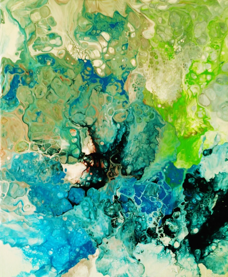 Abstract Composition 754  Print