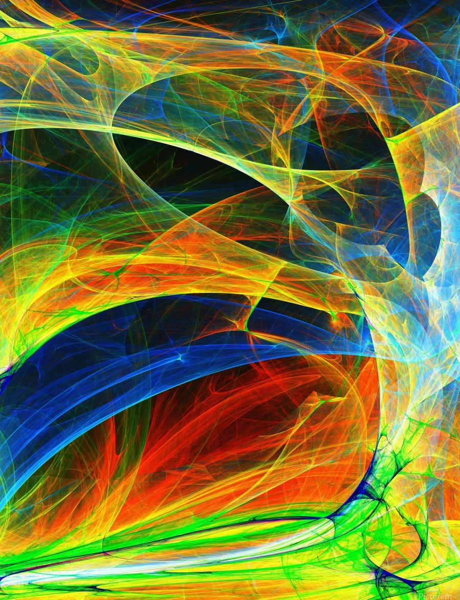 Abstract Composition 395  Print