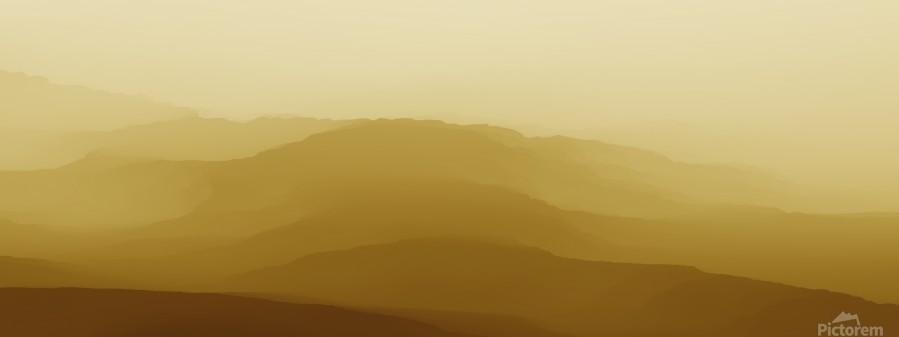 Mountainous Landscape 6  Print