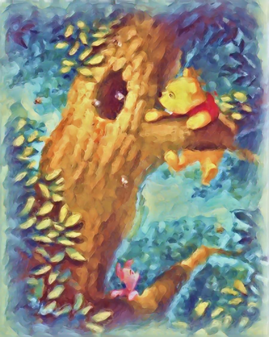 Curious Bear   Print