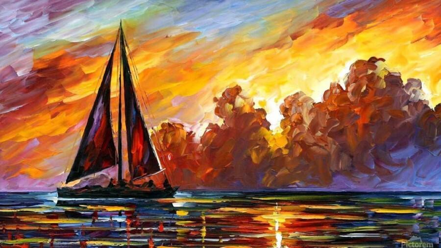 Golden Sails  Print