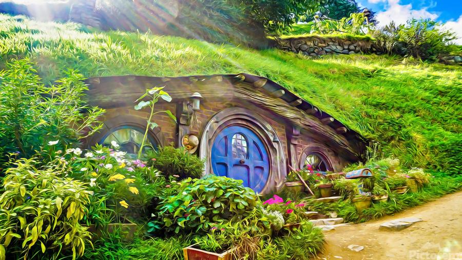 Hobbit Hole  Print