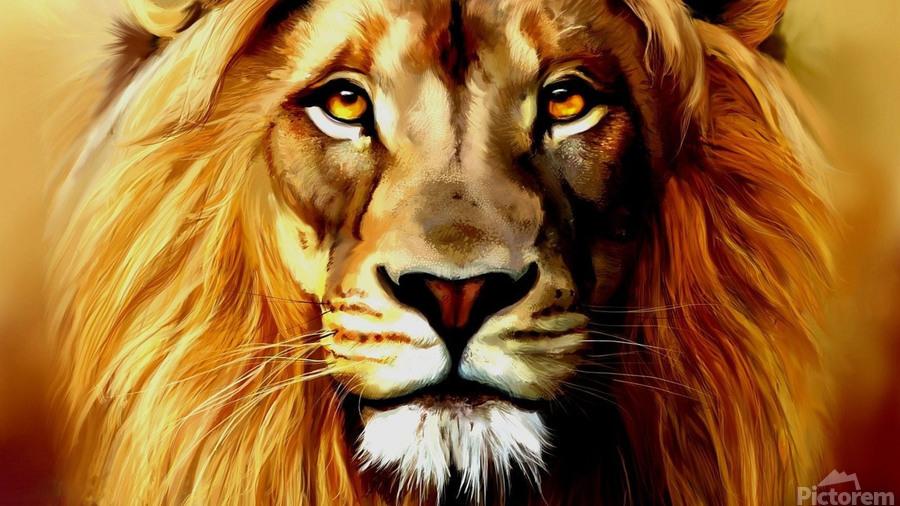 Majestic Beast   Print