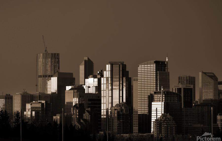 Calgary Skyline  Print