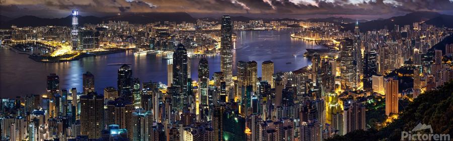 Hong Kong city   Print