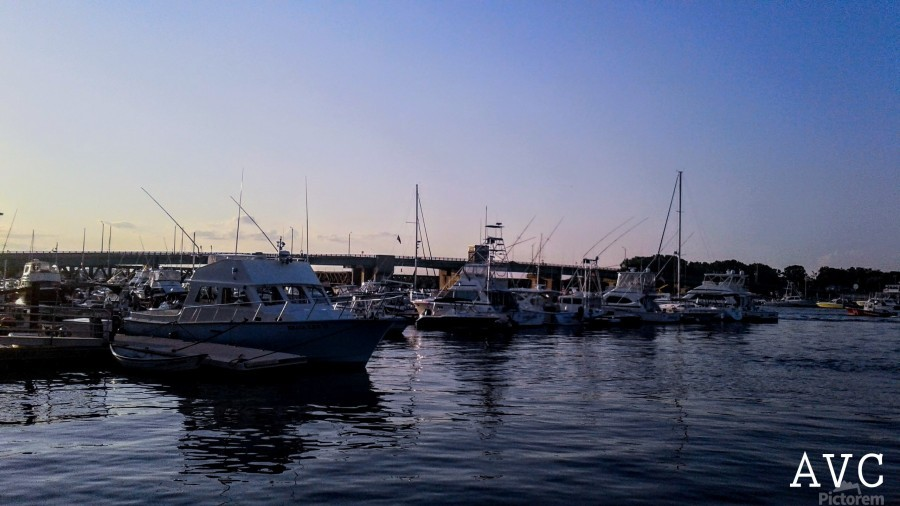 Small Harbor  Print