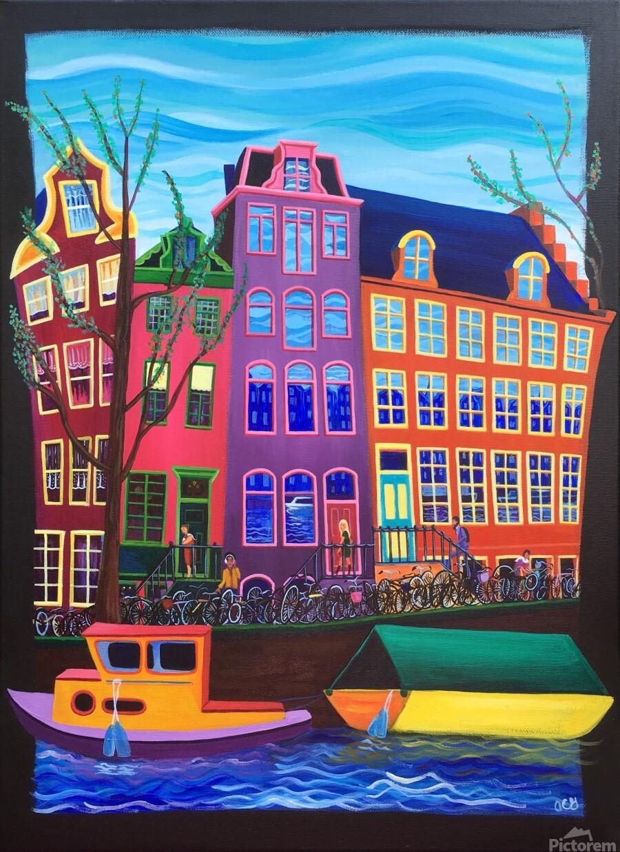 Amsterdam in November  Print
