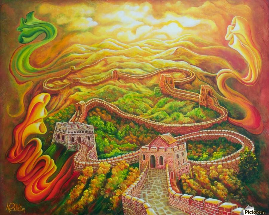 Dragon's eye view  Print