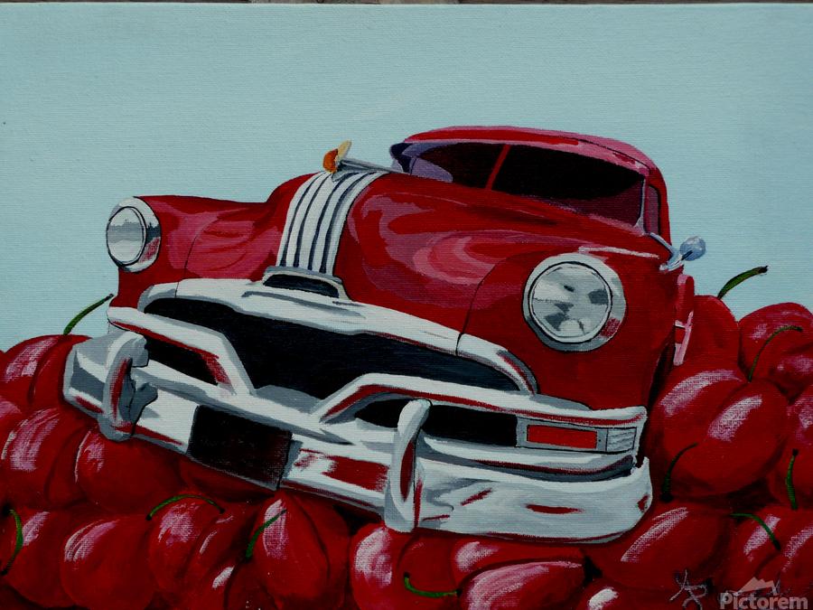 Cherry Ride  Print