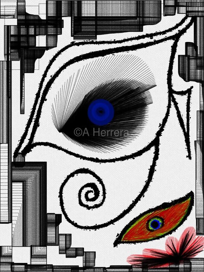 The Eye  Print