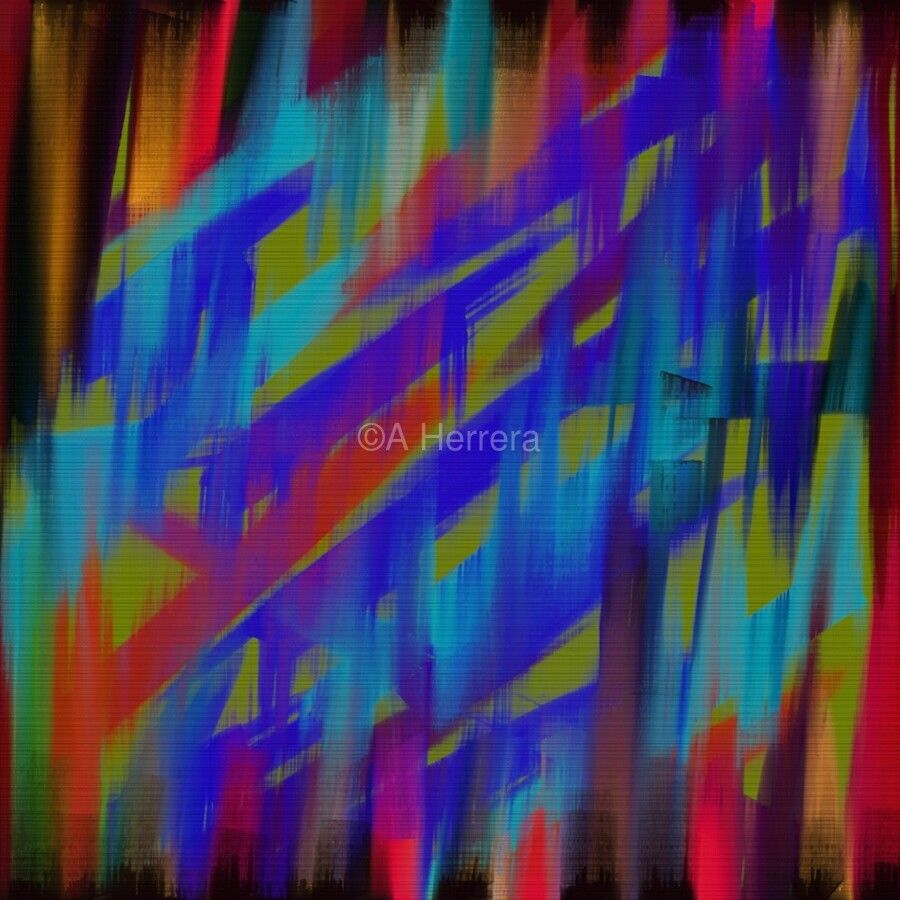 Abstract Me  Print