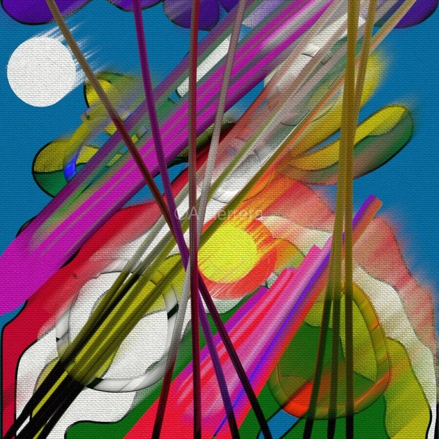 Happy Colors  Print