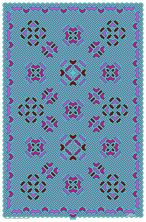 Celtic Maze 5010  Print
