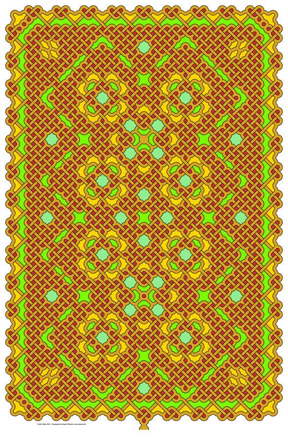 Celtic Maze 5011  Print