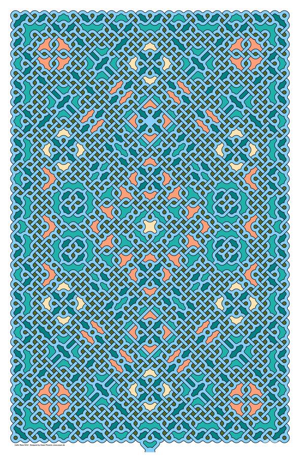 Celtic Maze 5014  Print