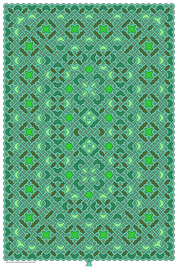 Celtic Maze 5015  Print