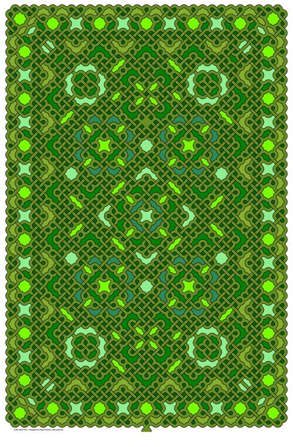 Celtic Maze 5017  Print