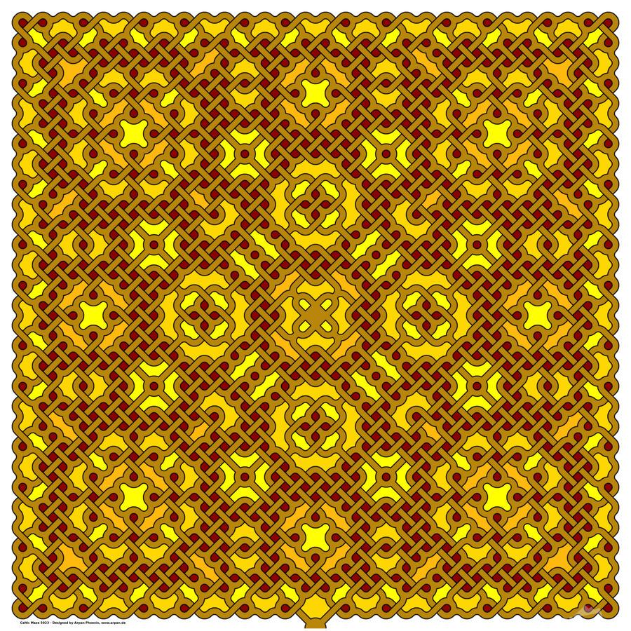 Celtic Maze 5023  Print