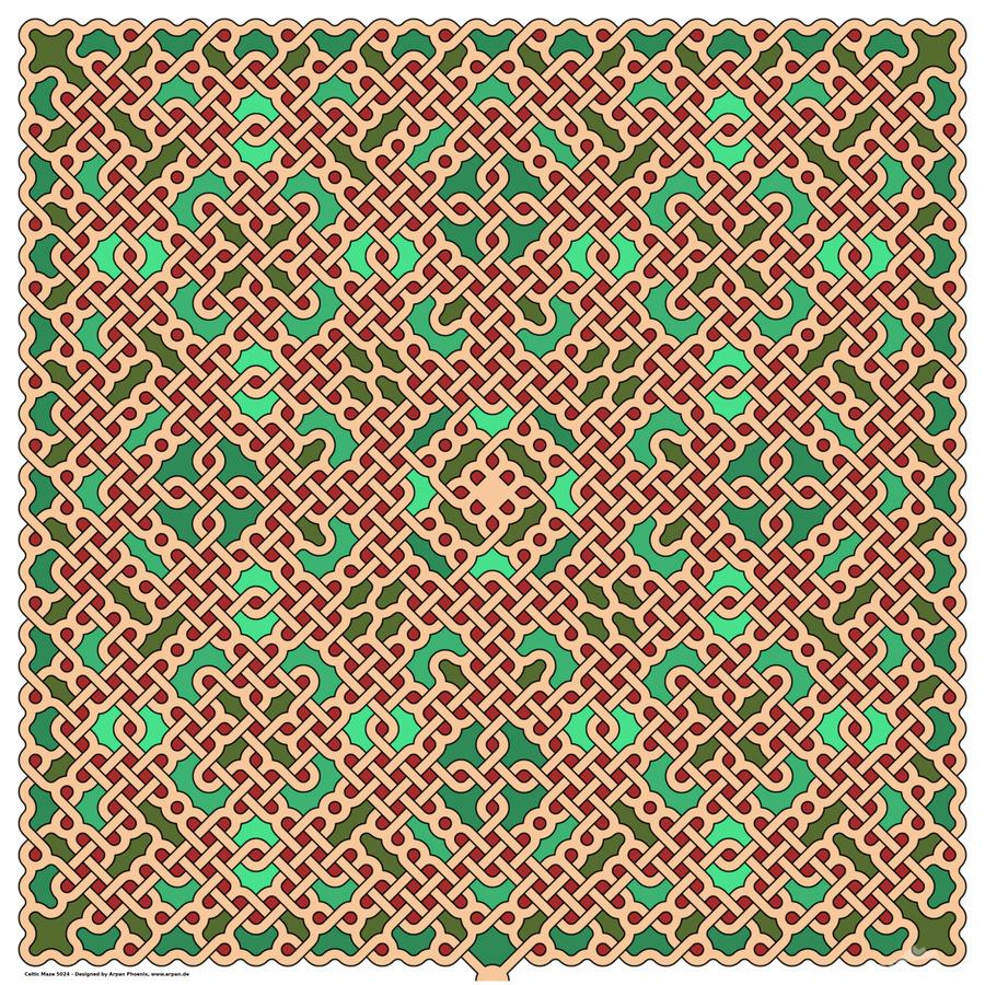 Celtic Maze 5024  Print