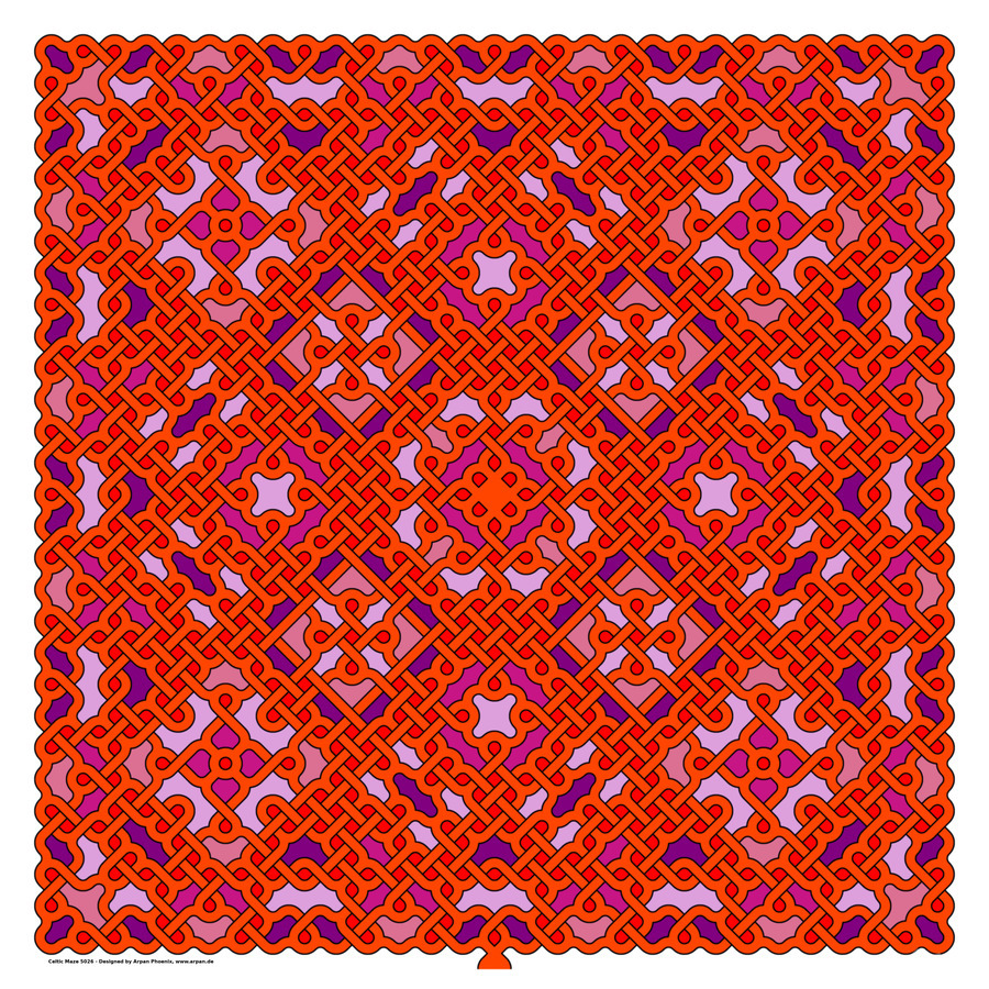 Celtic Maze 5026  Print