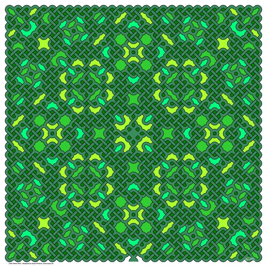 Celtic Maze 5032  Print