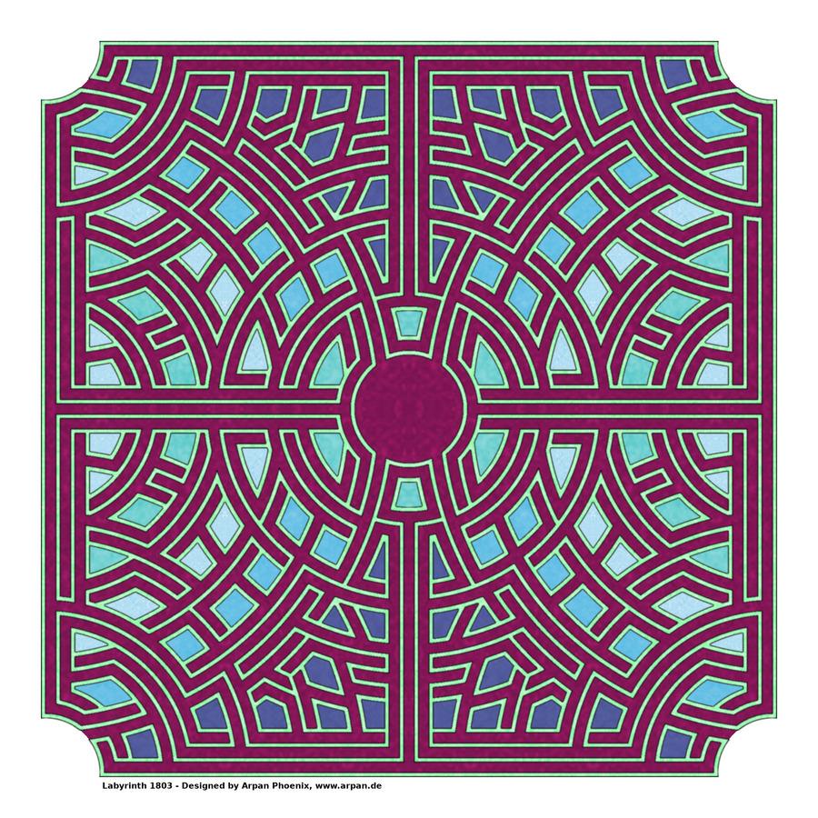 Labyrinth 1803  Print