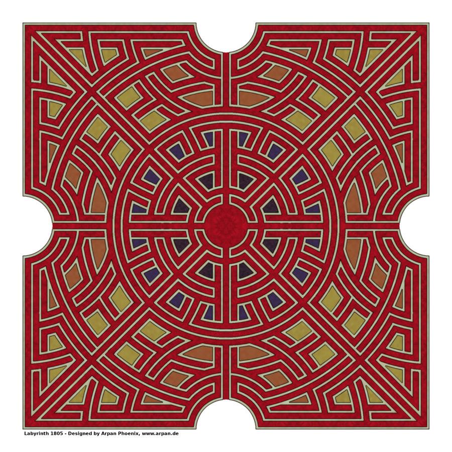 Labyrinth 1805  Print