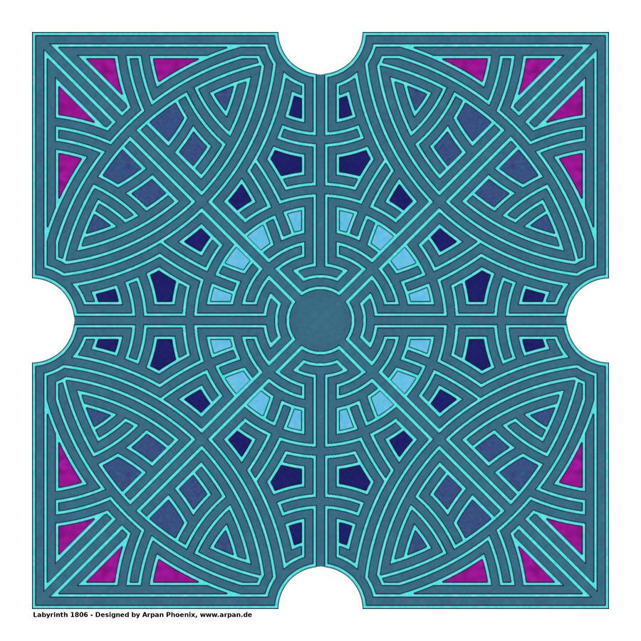 Labyrinth 1806  Print