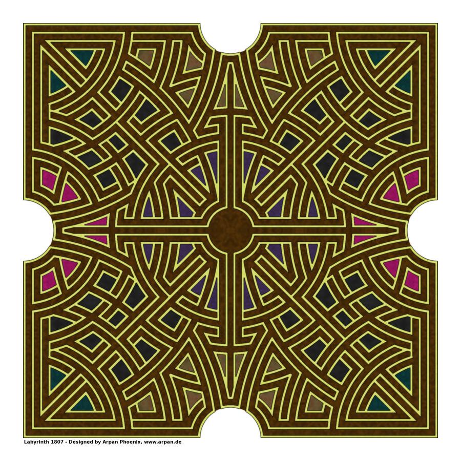 Labyrinth 1807  Print