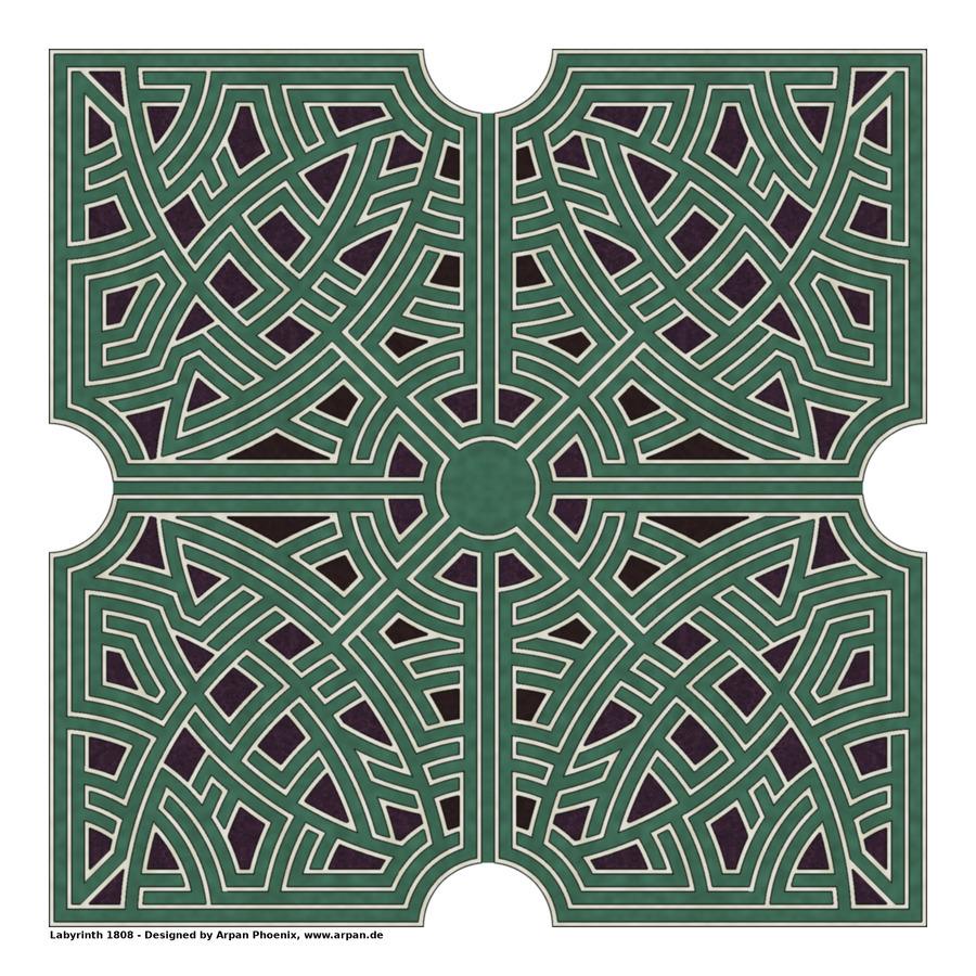 Labyrinth 1808  Print