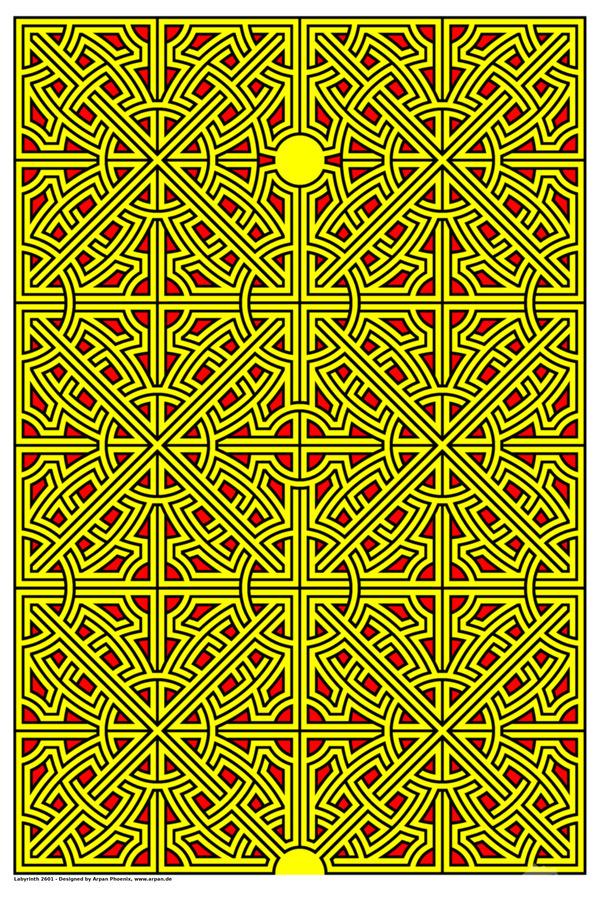 Labyrinth 2601  Print