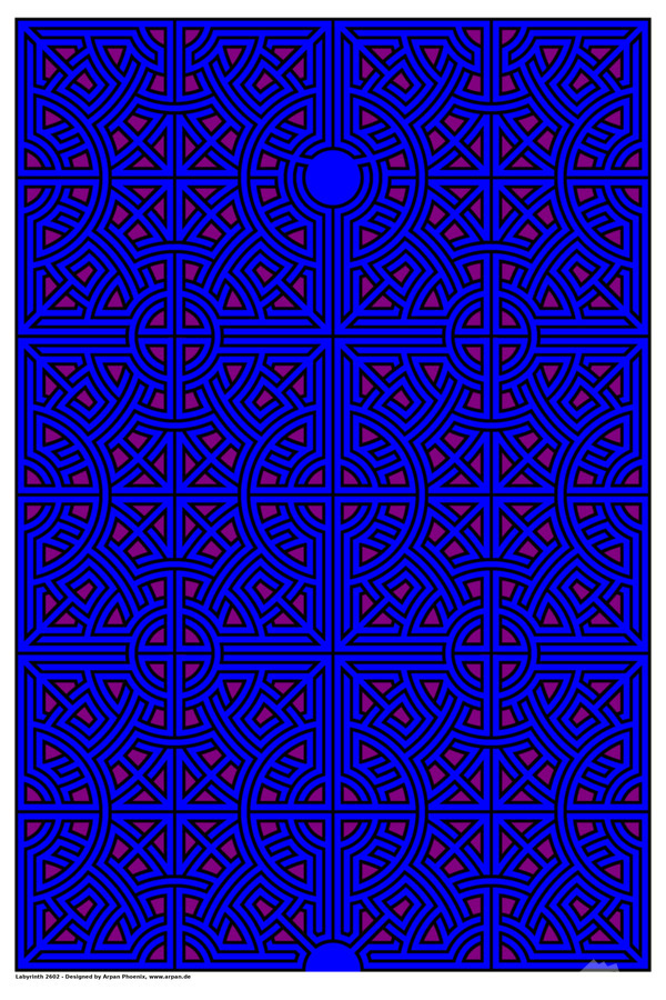 Labyrinth 2602  Print