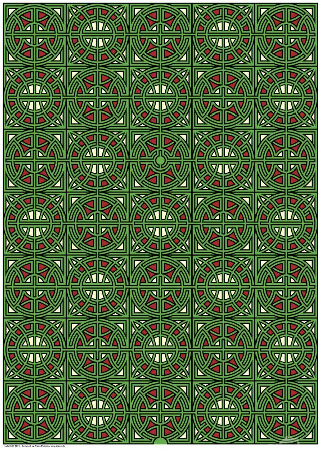 Labyrinth 3601  Print