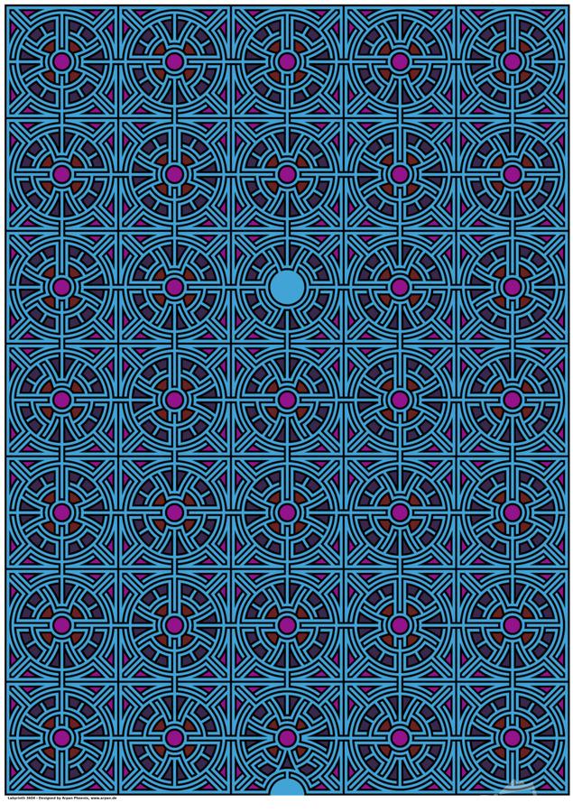 Labyrinth 3604  Print